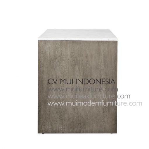 Island Grey top marble white