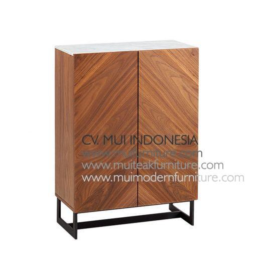 i Entry Cabinet top Marble, 70W x 38D X 99H cm