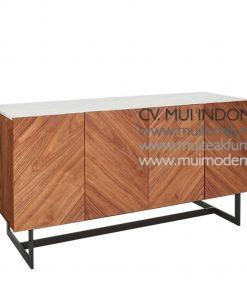 i Media Console top Marble, 140W x 50D x 72H cm