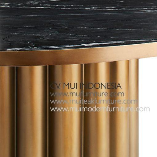 leg Salur Brass dining Table Marble