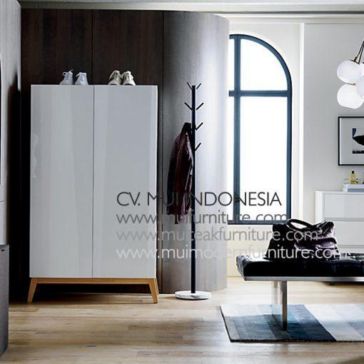 Alba Armoire 2 Door, 95W x 50D x 175H cm