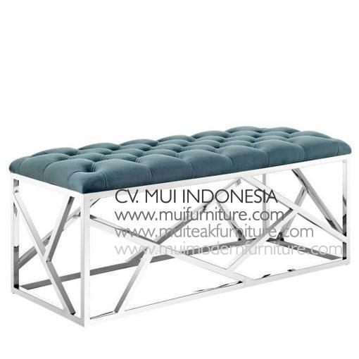 Ankara stainless Bench