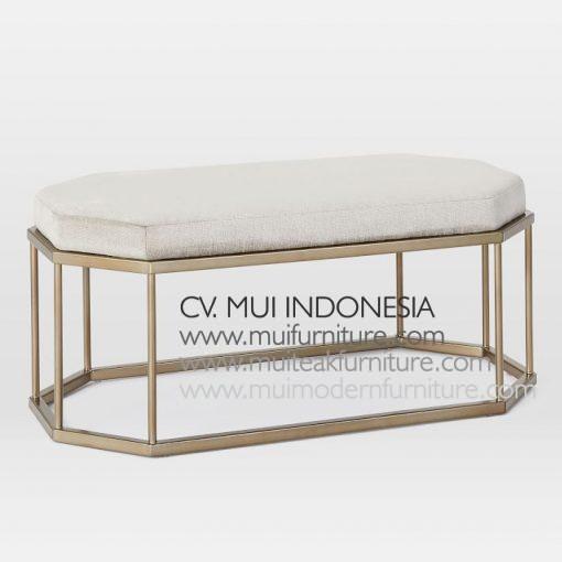 Hexa Long Bench , 120W x 50D x 45H cm