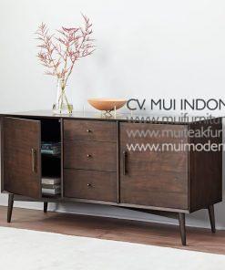Mid Century Buffet, 140W x 48D x 76H cm