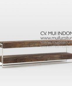 Modern Recycle Media Console, 210W x 48D x 66H cm