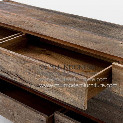 Modern Recycle Media Console