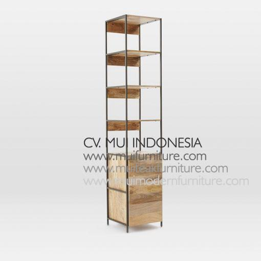 Modular Recycle Media Console