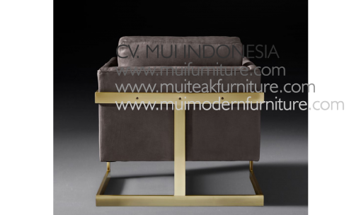 Recta Chair leg Stainless Gold