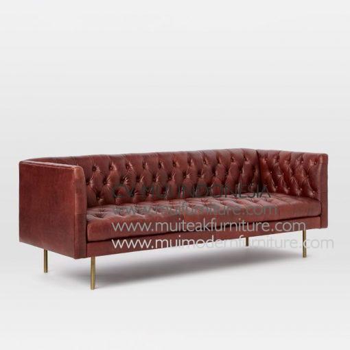 Recta Chester Sofa, 200W x 84D x 74H cm