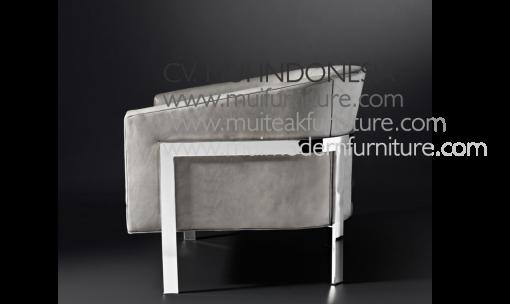 Reyna Chair Leg Stainless