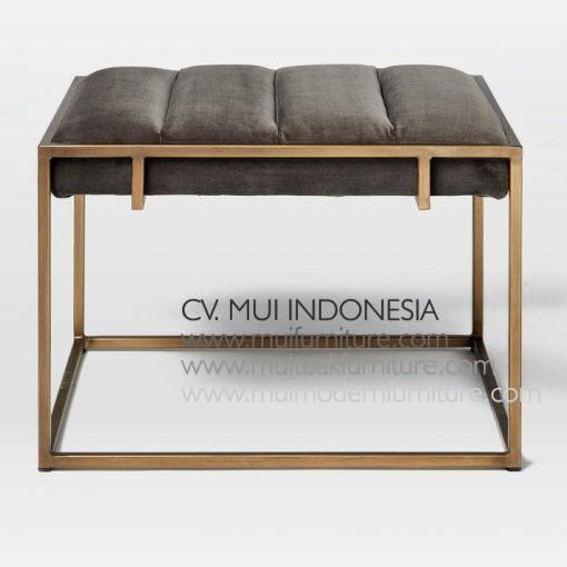 Spot stainless Bench, 80W x 50D x 45H cm
