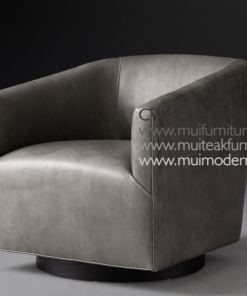 Tulip Chair Leather, 81W x 80D x 74H cm